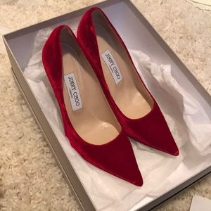 Jimmy choo high heels (used)
